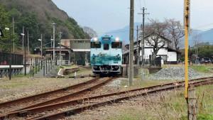 竹田駅2015 天空の城 竹田城跡号 01s